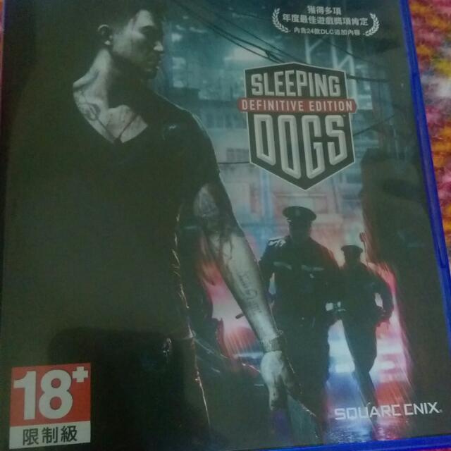 PS4 睡犬 中文版二手