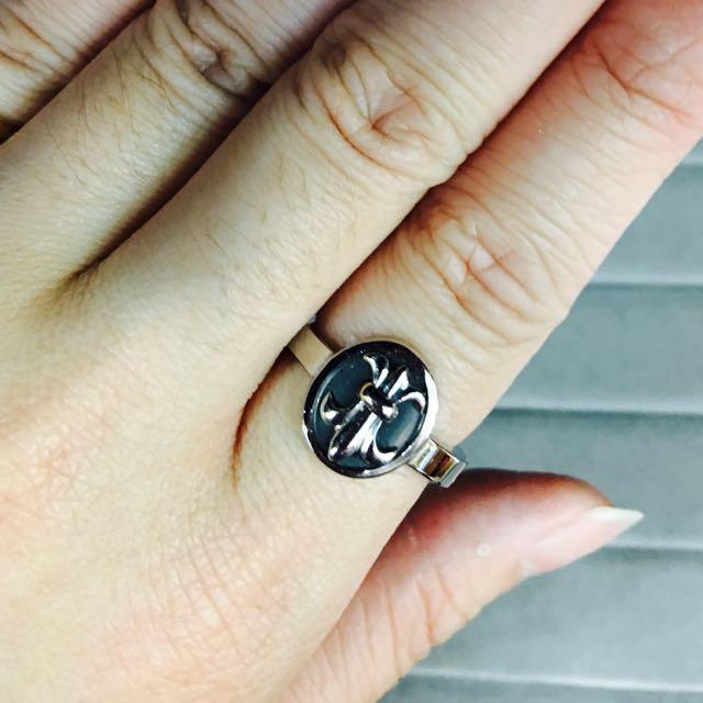 羅亞戴蒙RZ200鋼飾個性戒指