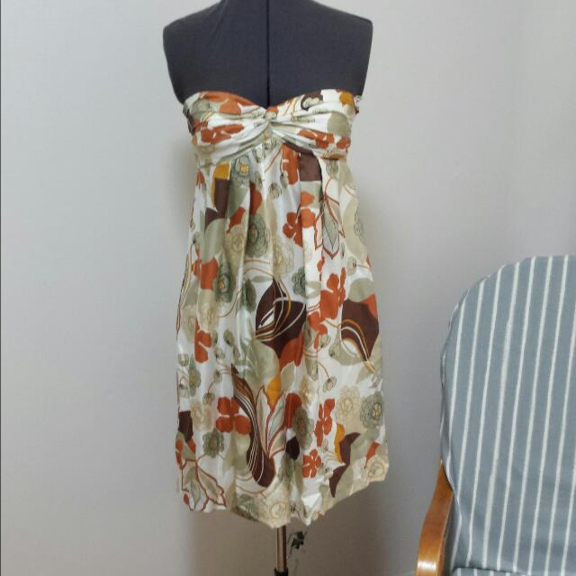 Size S Massimo Dutti Vintage Look Dress
