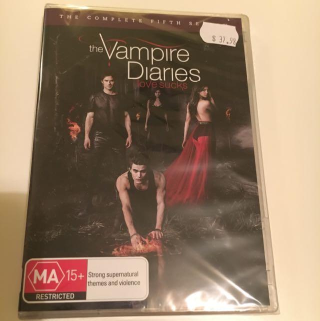 Vampire Diaries Season 5 UNOPENED