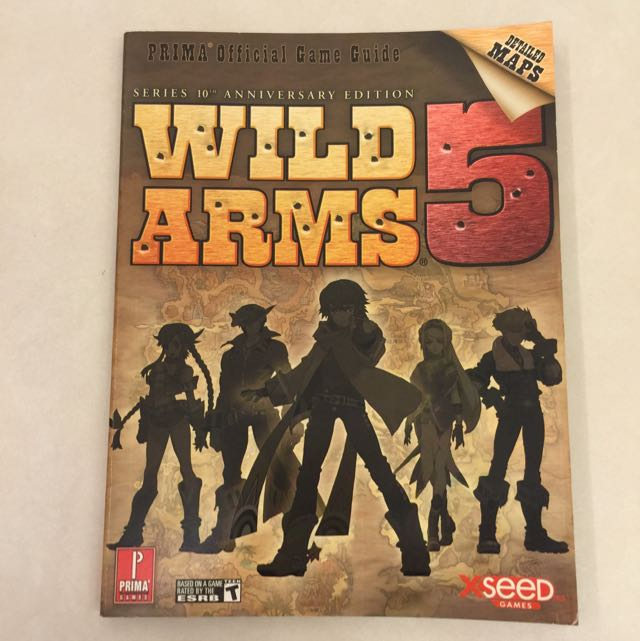 Wild arms 3 official strategy guide (versus books playstation 2.