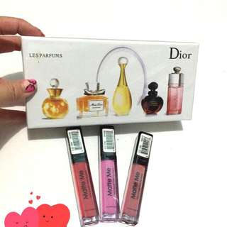 #NEW Mini Set Dior & Matte Me