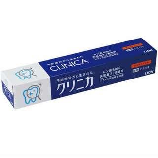 現貨 LION日本獅王固力寧佳全效淨護牙膏130g