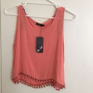 Chicabooti Top. New With Tags. Size 6.