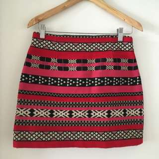 ZARA Tribal Skirt - NWOT