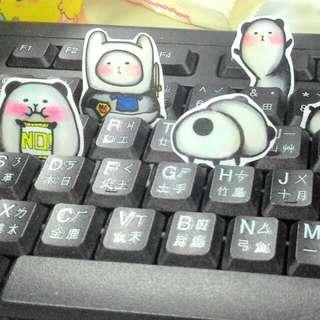 超可愛熊貓貼紙~