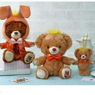 大學熊三月兔 衣服 客訂