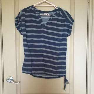 Target Striped Blouse | Size 6