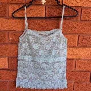 Vintage Square Neck Lace Camisole