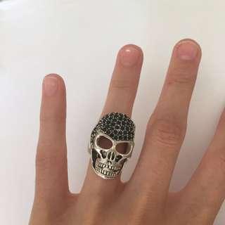 Skull Ring - Adjustable