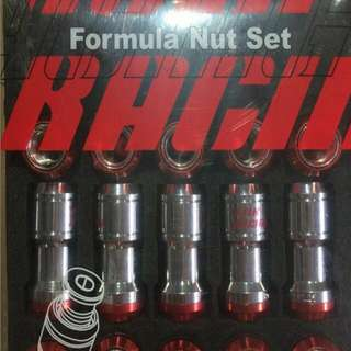 Lock Nut For Exclusive Wheels Made in Japan