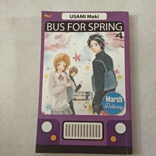 Bus For Spring Comic