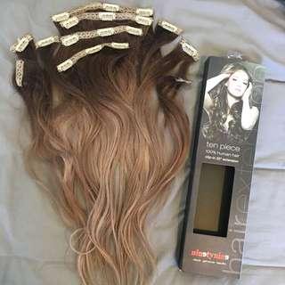 ombré HAIR EXTENSIONS