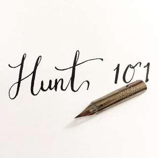 Brand New Hunt 101 calligraphy pen nib