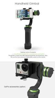 Gimbal Stabiliser for Phone & Go Pro & Xiao mi action camera.
