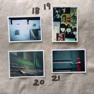 [這是什麼]手作攝影明信片18-21