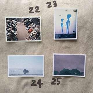 [美麗星球]手作攝影明信片22-32