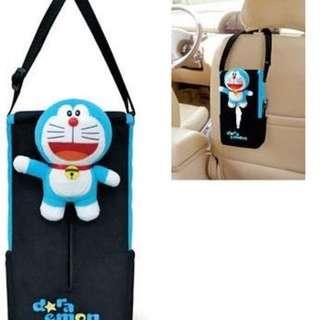 日本 正版授權 卡通 哆啦A夢 Doraemon 小叮噹 面紙盒掛袋 DR-15104
