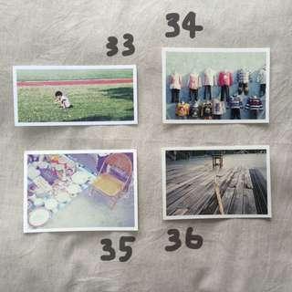 [曬人干]手作攝影明信片33-40