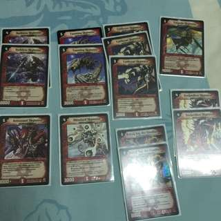 Duel Masters Fire Armored Wyverns