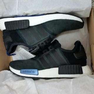 (暫售)最佛價的公司貨。現貨只有一雙Adidas NMD R1 黑藍Us6=23cm
