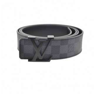 Louis Vuitton Damier Graphite Belt