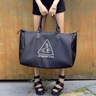 預購 3CE大容量旅行包 行李袋 旅行袋
