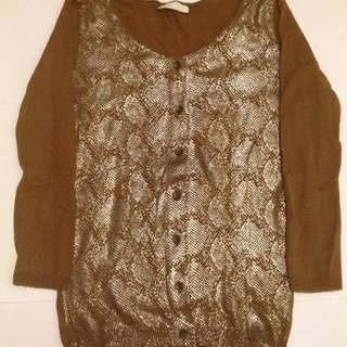 Promod Animal Pattern Cardigan