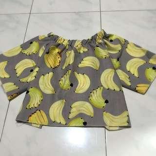 banana off shoulder