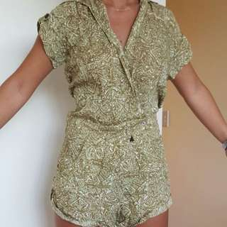 Tallow Playsuit Size 6