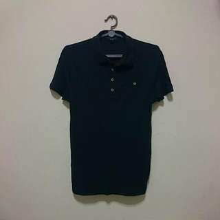 Navy Polo Tee by NEW LOOK