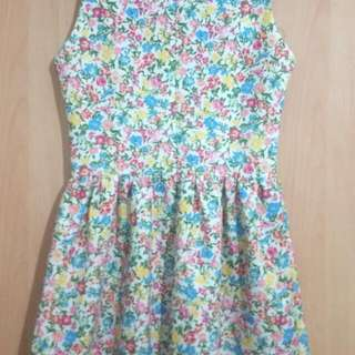 Cheery Floral Dress