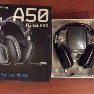 PS4 A50 電競耳機 超新
