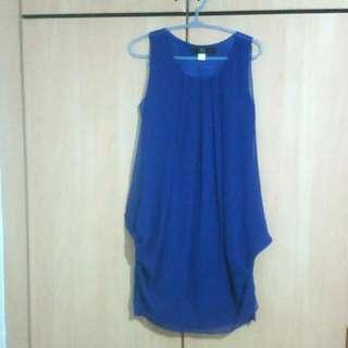 Cool Blue Unique Dress