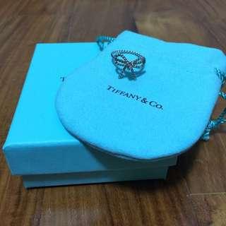 Tiffany & Co Bow Ribbon Ring