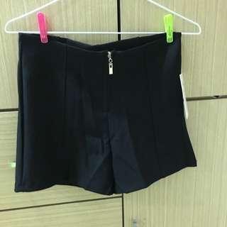 彈性西裝短褲