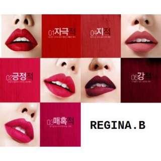 韓國 bbia RED serues 持久保濕 自然上色霧面 媲美MAC 另有3CE唇膏