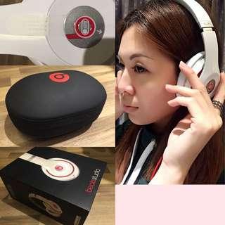 Beats Studio 耳罩式耳機(白)