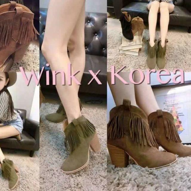 正韓靴子24.5