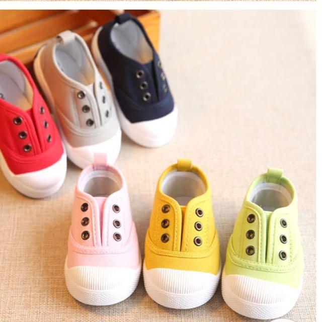 男女童/寶寶休閒帆布鞋/懶人鞋