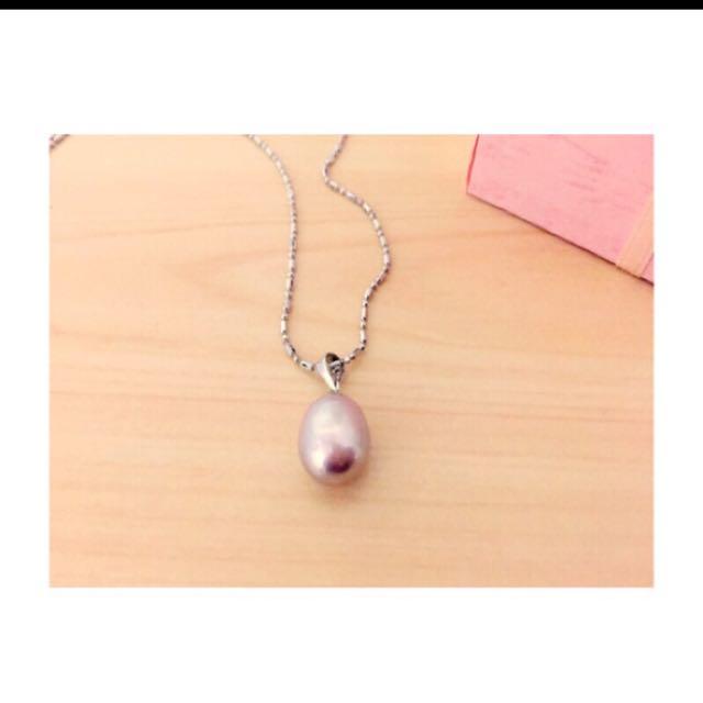 全新100%真品珍珠項鍊