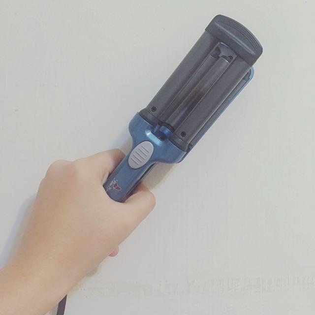 13mm韓國美人魚頭三管電棒✨✨(僅使用過一兩次)