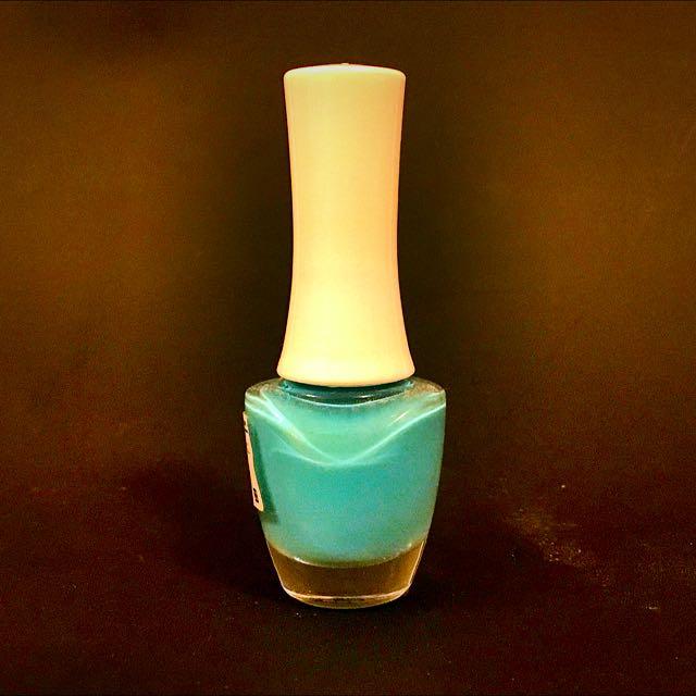 糖果藍色系指甲油