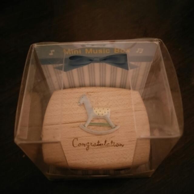 小木馬木頭音樂盒
