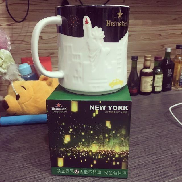 經典 紐約浮雕馬克杯