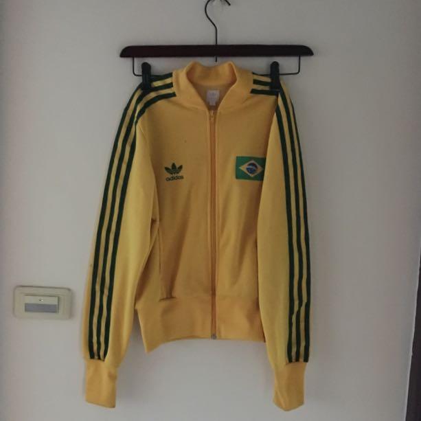 Adidas 世足巴西隊限量短版外套