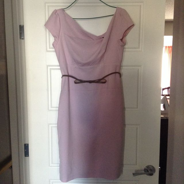 Baby Pink Le Chateau Dress