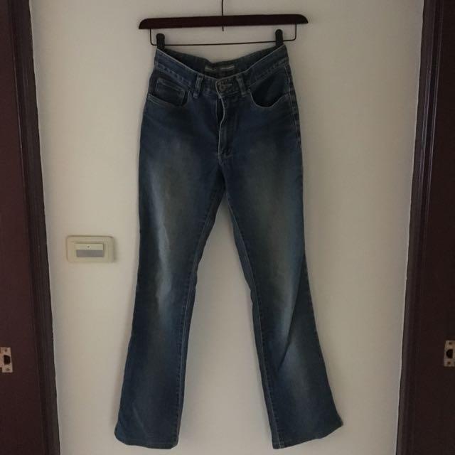 Blue Way復古牛仔褲