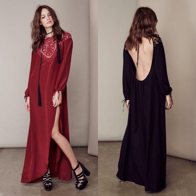 f25d5dac37 Black Boho Chic Dress – Little Black Dress | Black Lace Bridesmaid ...