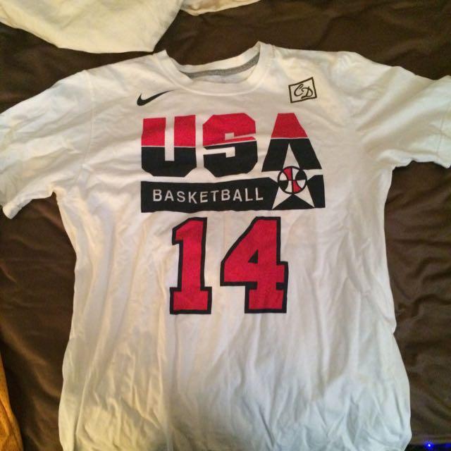 Charles Barkley Team USA T Shirt